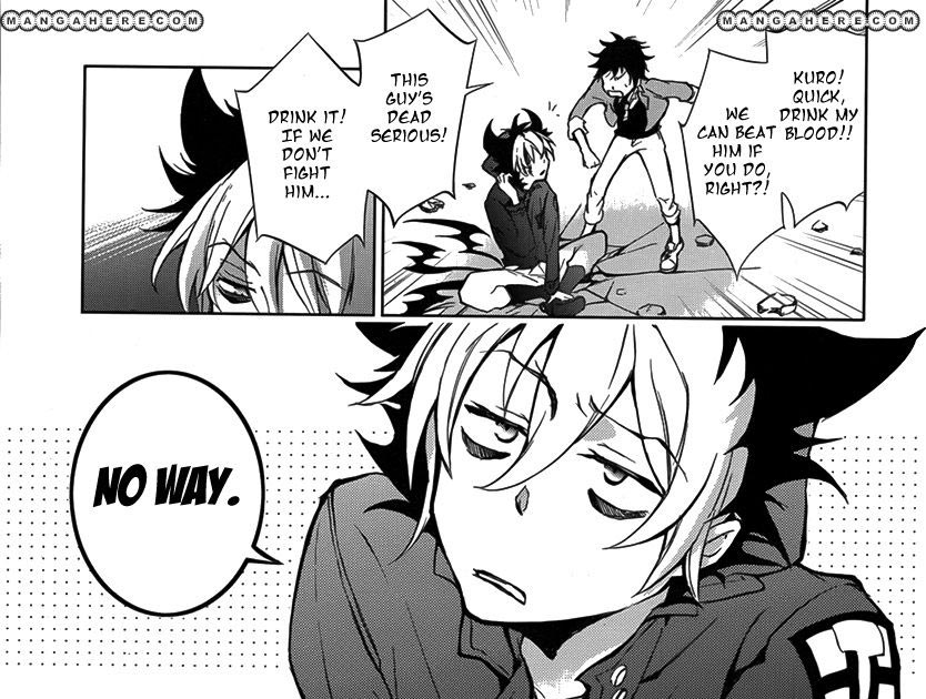 Servamp vol 1 sample page