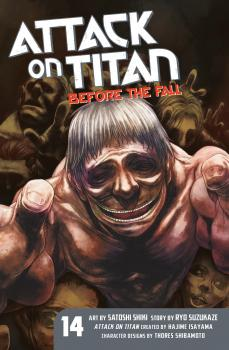 Attack on Titan Manga Vol. 14 - Before the Fall