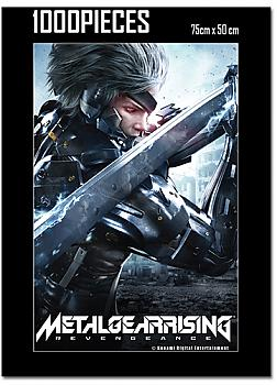 Metal Gear Rising Puzzle - Raiden Key Art (1000pc)