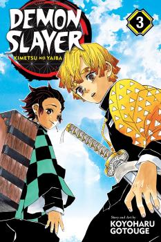 Demon Slayer Manga Vol. 3 - Kimetsu no Yaiba