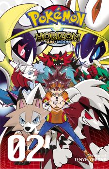 Pokemon Horizon Sun & Moon Manga Vol. 2