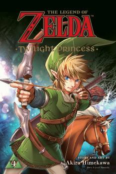 Zelda Twilight Princess Manga Vol. 4