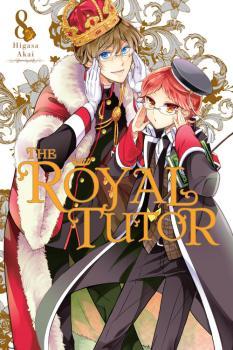 Royal Tutor Manga Vol. 8