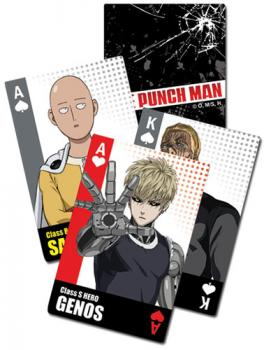 One-Punch Man Playing Cards - Character Burst
