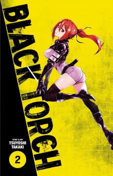 Black Torch Manga Vol. 2