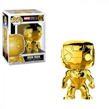 Marvel Studios 10th POP! Vinyl Figure - Iron Man (Gold Chrome)
