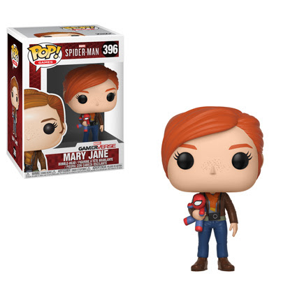 Spider Man Ps4 Pop Vinyl Figure Mary Jane W Plush Archonia Us