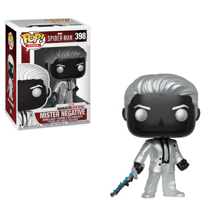 Spider Man Ps4 Pop Vinyl Figure Mister Negative