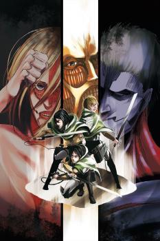 Attack on Titan Manga Vol. 13-17 - Season 3 Box Set