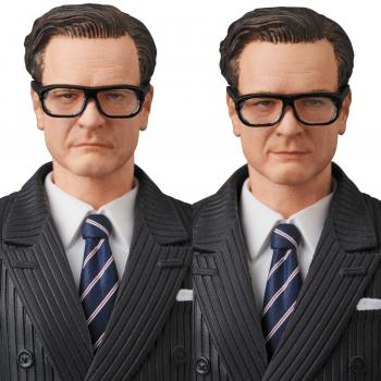 Kingsman MAFEX Action Figure - Harry ''Galahad'' Hart