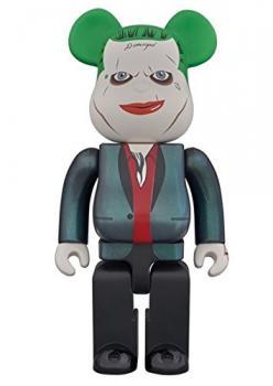 Suicide Squad 400Percent Bearbrick Action Figure - Joker (Wonder Festival 2016 Summer Exclusive)