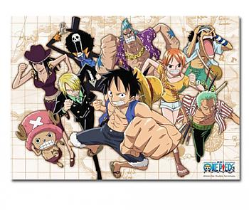 One Piece Puzzle - Group Dash (520pc)
