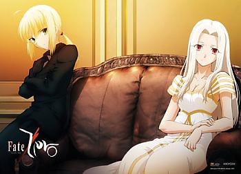 Fate/Zero Wall Scroll - Saber and Irisviel [LONG]