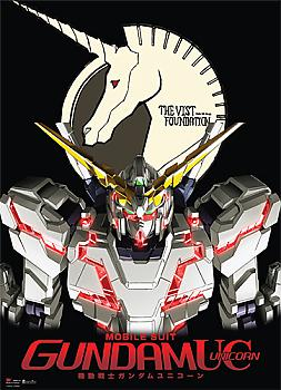 Gundam Unicorn Wall Scroll - UC RX-O Unicorn Gundam Destroy Mode