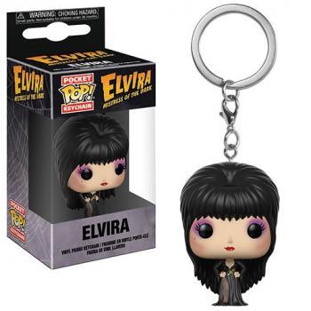 Elvira Pocket POP! Key Chain - Elvira