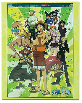 One Piece Puzzle - Group No. 1 (1000pc) (Glow in the Dark)