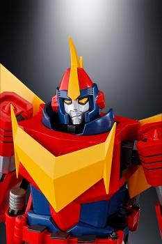 Invincible Super Man Zambot Soul Of Chogokin Action Figure - GX-81 Zamboace
