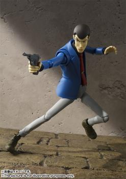 Lupin the 3rd S.H. Figuarts Action Figure - Lupid