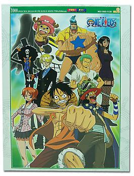 One Piece Puzzle - Group No. 2 (1000pc) (Glow in the Dark)