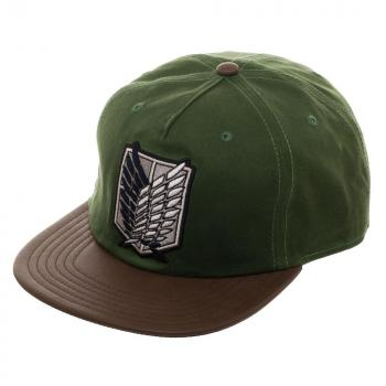 Attack on Titan Cap - Scout Waxed Canvas Snapback