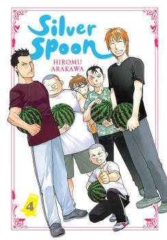 Silver Spoon Manga Vol. 4