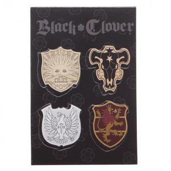 Black Clover Lanyard - Five-Leaf Black Clover