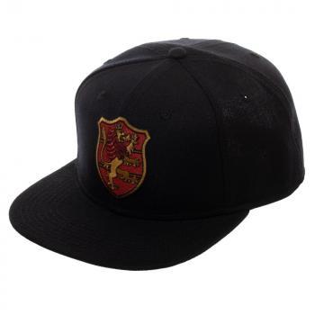 Black Clover Cap - Crimson Lion Crest Snapback