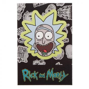 Rick and Morty Lanyard - Rick Head