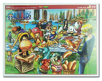 One Piece Puzzle - Group Picnic (300pc)