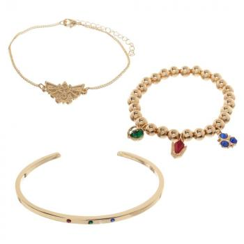 Zelda Wristband - Twilight Princess Spiritual Stones