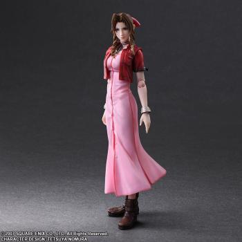 Final Fantasy Crisis Core Play Arts Kai Action Figure - Aerith Gainsborough