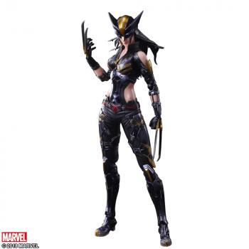 Wolverine Variant Play Arts Kai Action Figure - X-23 (Laura)