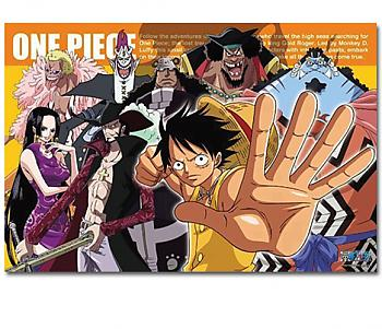 One Piece Puzzle - Luffy & Royal Shichibukai (1000pc) (Royal Seven Warlords of the Sea)