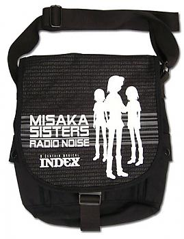 A Certain Scientific Railgun Messenger Bag - Misaka Sisters