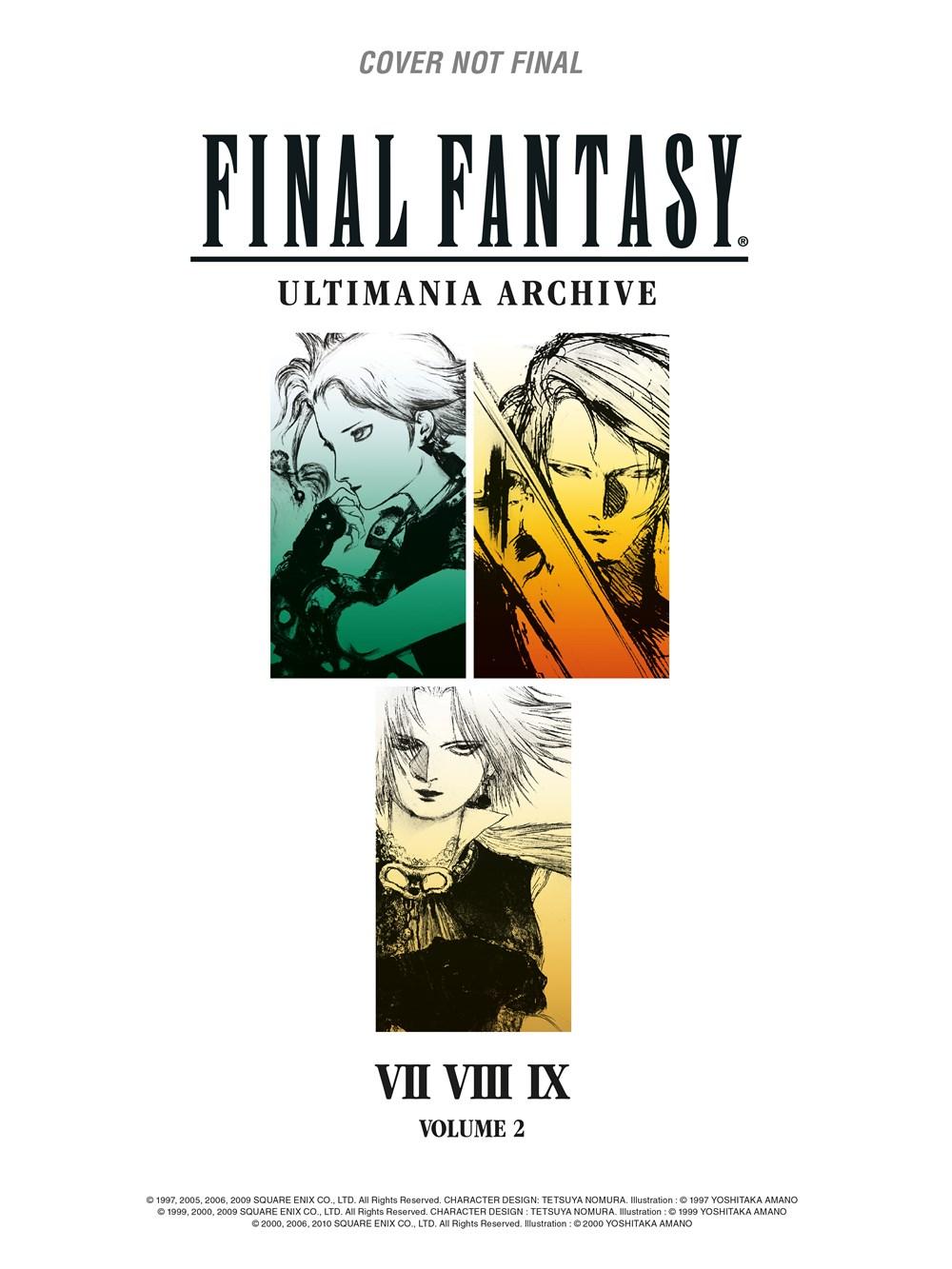 Final Fantasy Ultimania Archive Manga Vol 2