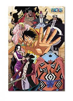 One Piece Puzzle - Luffy & Royal Shichibukai (Glow in the Dark)