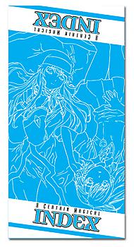 A Certain Magical Index Towel - Index & Misaka