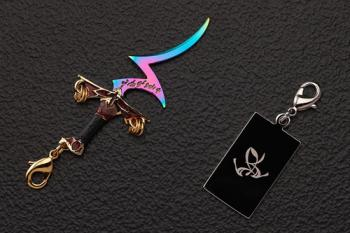 Fate/Stay Night Zipper Charm - Rule Breaker (Fate Metal Charm Collection 07)