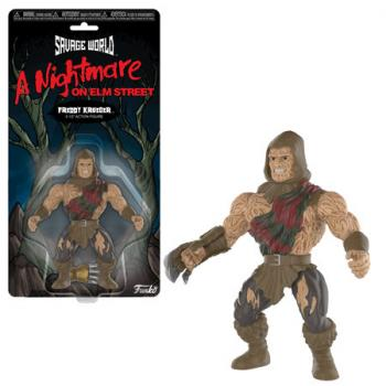 Nightmare on Elm Street Action Figures - Freddy (Savage World)