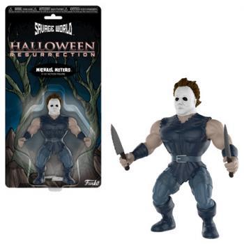 Halloween Action Figures - Michael Myers (Savage World)