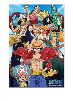 One Piece Puzzle - New World Straw Hat Pirates Cheerful (Glow in the Dark)