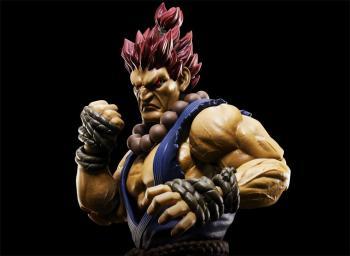 Street Fighter V S.H.Figuarts Figure - Akuma