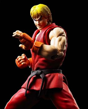 Street Fighter S.H.Figuarts Action Figure - Ken Masters