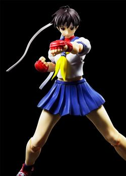 Street Fighter S.H.Figuarts Action Figure - Sakura Kasugano