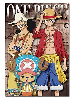 One Piece Puzzle - New World Usopp, Luffy, Chopper (300pc)