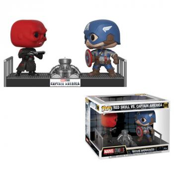 Captain America First Avengers POP! Vinyl Figure - Red Skull & Captain America Movie Moment