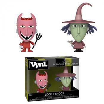 Nightmare Before Christmas Vynl. Figure - Lock & Shock (2-Pack)