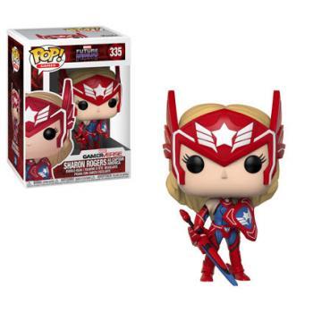Marvel Future Fight POP! Vinyl Figure - Sharon Rogers as Captain America
