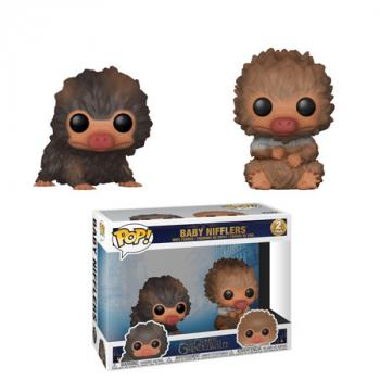 Fantastic Beast 2POP! Vinyl Figure - Brown Baby Niffler & Tan Baby Niffler (2-Pack)