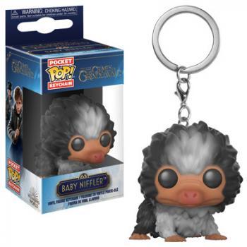 Fantastic Beast 2 Pocket POP! Key Chain - Baby Niffler (Brown Multi)
